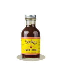 Sweet and Sticky BBQ Sauce - 315g fra Stokes