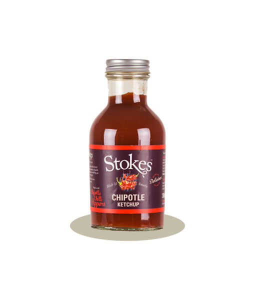 Chipotle Ketchup 300g fra Stokes