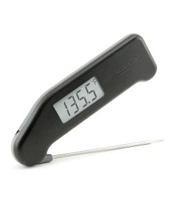 Steketermometer - Superhurtig Thermapen i sort