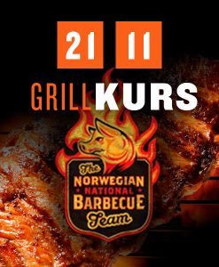 Grillkurs med Craig or resten av The Norwegian National BBQ Team